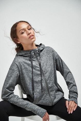Grey Sporty Hoodie