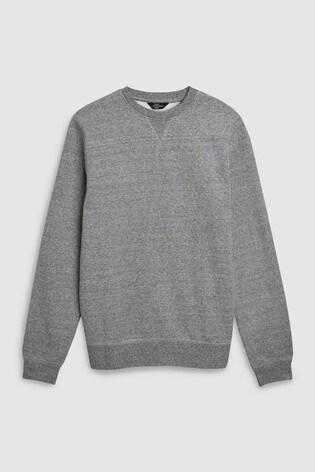 Grey Crew Neck Sweater Loungewear