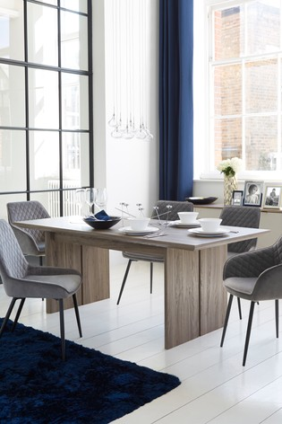 Buy Modine 6 8 Seater Extending Dining Table From The Next