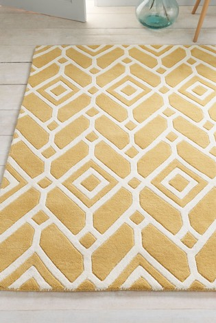 Buy Lattice Geo Rug From Next Ireland