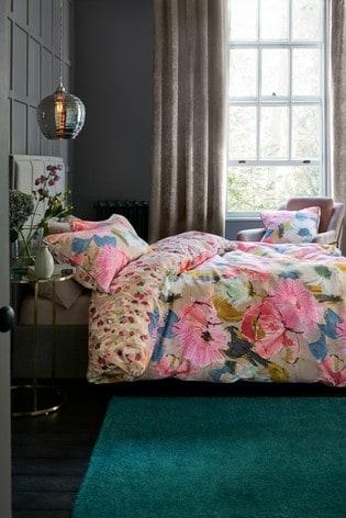 Buy Edinburgh Weavers Nikita Floral Duvet Cover And