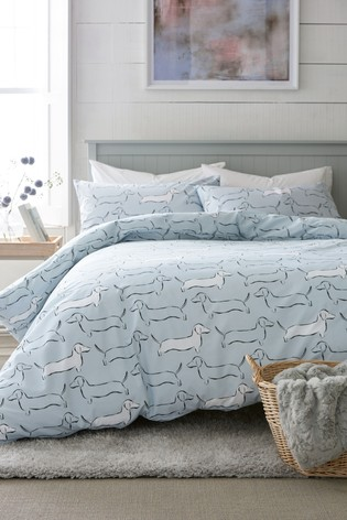 Buy Dachshund Duvet Cover And Pillowcase Set From The Next