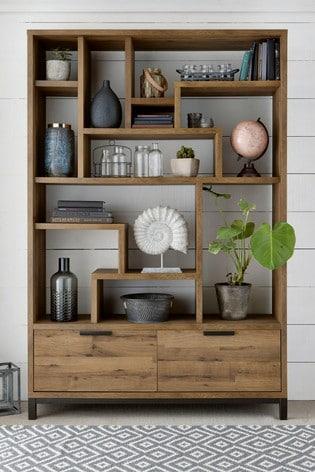 Narrow Bookshelf Kitchen