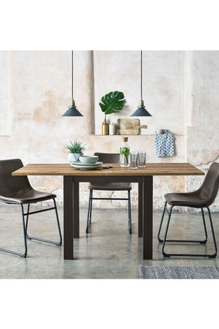 Buy Bronx 4 6 Seater Square To Rectangle Dining Table From