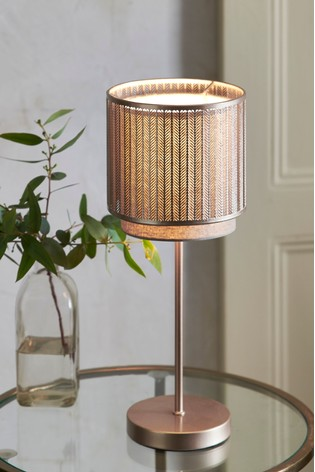 buy jada touch table lamp from the next uk online shop. Black Bedroom Furniture Sets. Home Design Ideas