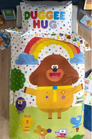Buy Hey Duggee Duvet Cover And Pillowcase Set From The