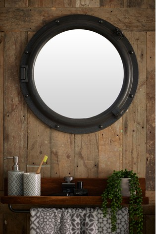 Buy Hudson Porthole Mirror From The Next Uk Online Shop