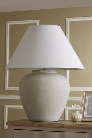 Buy Extra Large Lydford Table Lamp from the Next UK online ...