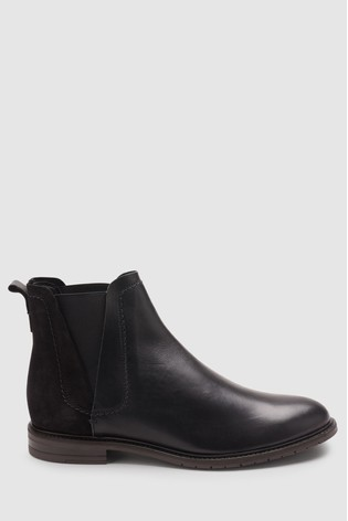 aef2a18bc239fd Buy Black Forever Comfort Chelsea Boots from the Next UK online shop