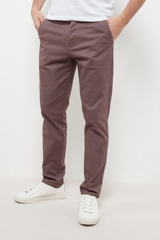 9bcad2b59 Buy Pink Slim Fit Stretch Chinos from the Next UK online shop