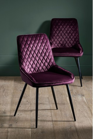 reputable site 3df82 7ce7c Buy Set Of 2 Hamilton Dining Chairs from Next Bahrain