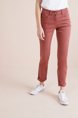 6074cf7b56 Buy Rust Relaxed Skinny Jeans from the Next UK online shop