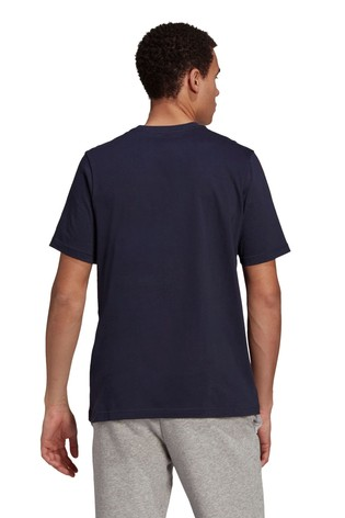 adidas 3 Stripe Knit T-Shirt
