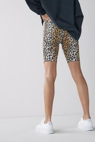adidas Originals Leopard Lux Bike Shorts