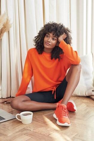 Orange Sporty Tunic