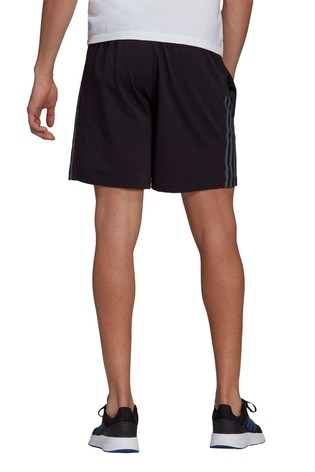 adidas Black Essential 3 Stack Shorts