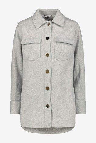 Grey Shacket