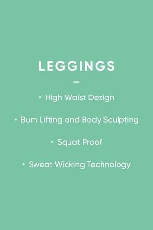 Grey High Waisted Full Length Sculpting Leggings