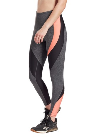 Reebok Grey Lux High Rise Leggings