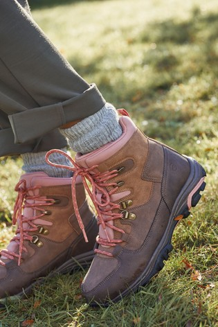 Blush Performance Waterproof Active Hiker Boots