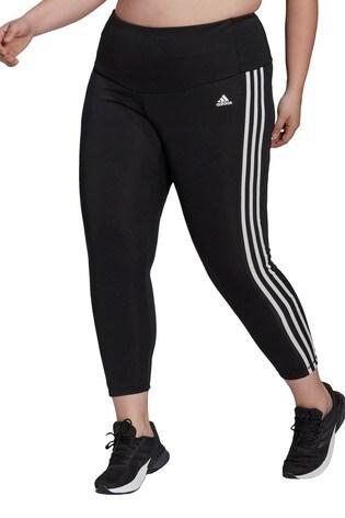 adidas Curve High Waist 3 Stripe High Waisted 7/8 Leggings