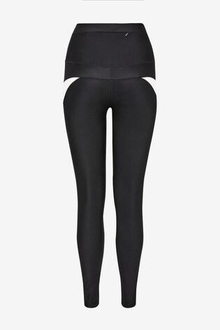 Black Colourblock Emma Willis Leggings