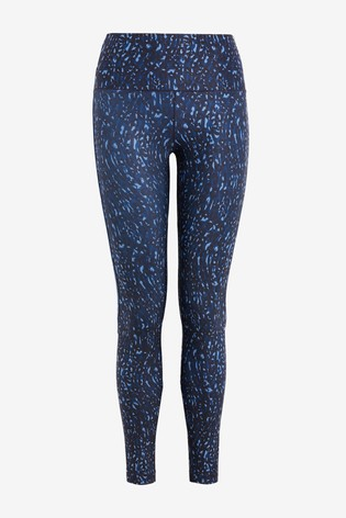 Navy Printed Emma Willis Leggings