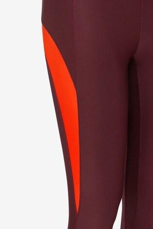 Berry Colourblock Emma Willis Leggings