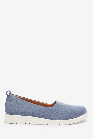Blue Motion Flex Slip-On Shoes