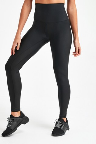 Recycled Black High Waist Sculpting Sports Leggings