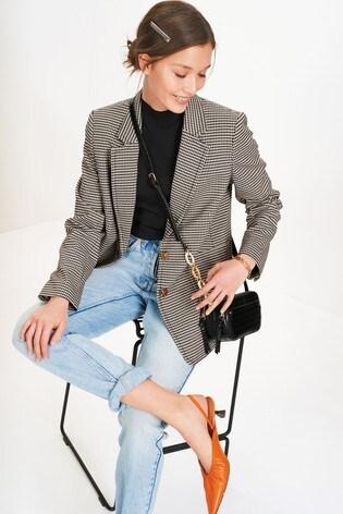 Check Premium Tailored Blazer