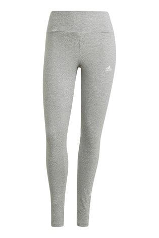 adidas Grey 3 Stack High Waisted Leggings