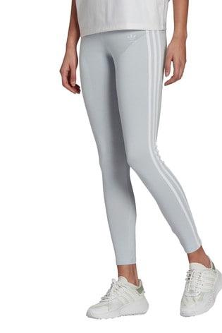 adidas Originals Blue 3 Stripe Leggings