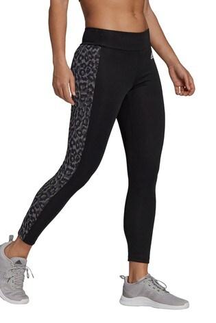 adidas D2M Leopard High Waisted 7/8 Leggings