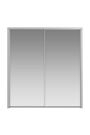 Peyton 2.1M Glass Sliding Wardrobe