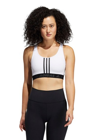 adidas Don't Rest 3 Stripe Sports Bra
