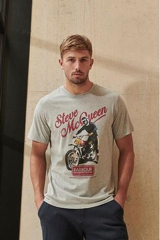 Barbour® International Steve McQueen Enduro T-Shirt