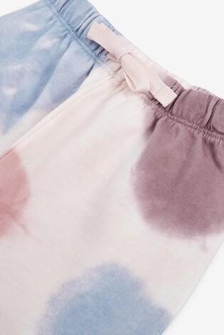 Purple Tie Dye Co-ord Set (3mths-7yrs)