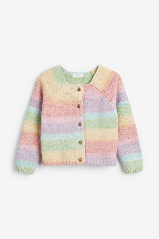 Rainbow Chenille Cardigan (3mths-7yrs)