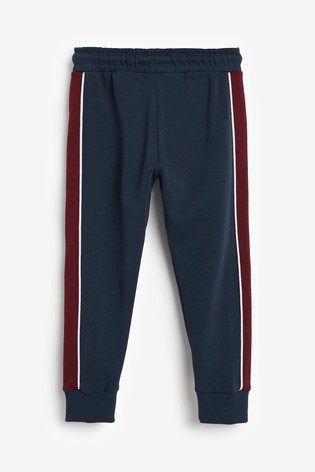 Navy Joggers Side Panel (3-16yrs)