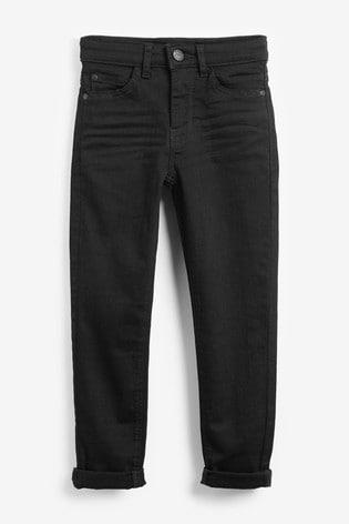 Black Skinny Fit Mega Stretch Jeans (3-16yrs)