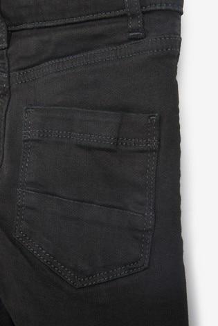 Black Spray On Mega Stretch Jeans (3-16yrs)