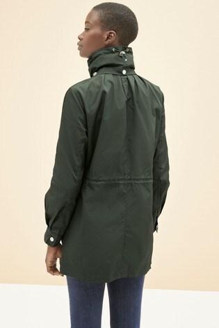 Khaki Glam Rain Mac
