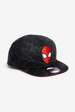Black Spider-Man™ Cap (3mths-10yrs)