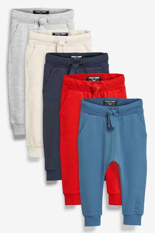 Multi 5 Pack Joggers (3mths-7yrs)