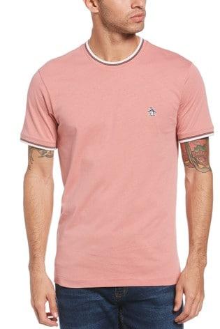 Original Penguin® Pink Tipped Sticker Pete T-Shirt