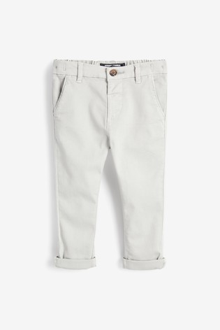 Light Grey Stretch Chinos (3mths-7yrs)