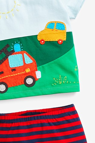 Bright Transport T-Shirt And Leggings Set (0mths-2yrs)