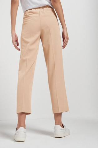 Camel Premium Tailored Straight Trousers