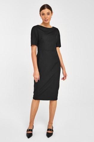 Black Tailored Dress